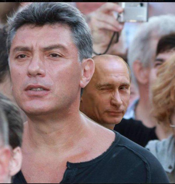 Poutine et Boris Nemtsov : un sacré farceur ce Poutine ! ^^