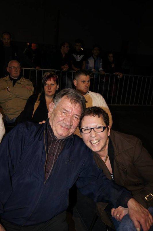 Georges et Claudine  , gala de Boxe à Bernissart -  Blaton ( 2013 )