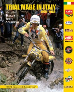 "LE LIVRE ""TRIAL MADE IN ITALY 1975 - 1985"""
