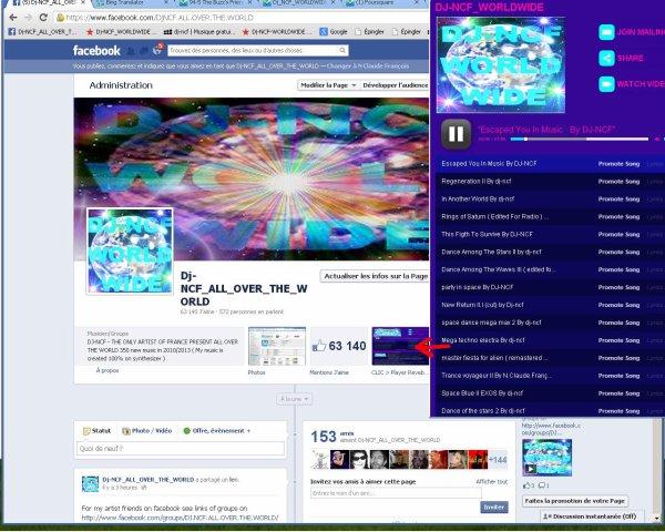 Dj-NCF_ALL_OVER_THE_WORLD Sur Facebook ( 100.500 Fans )