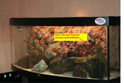 décor d aquarium en mousse polyurethane