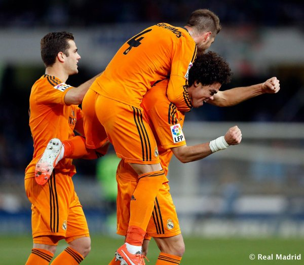 Real Madrid 4-0 Real Sociedad !