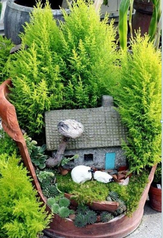art et jardinage