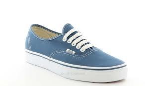Vans Femme Bleu Jean