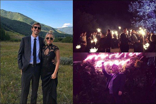 21 ao�t 2016 : Emily �tait au mariage de son amie et co-star Aimee Carrero dans le Colorado ●●�Em' �tait sublime dans cette robe noir ! J'adore la partie transparente, elle a pris plusieurs photos avec ses amis, magnifique ♥�