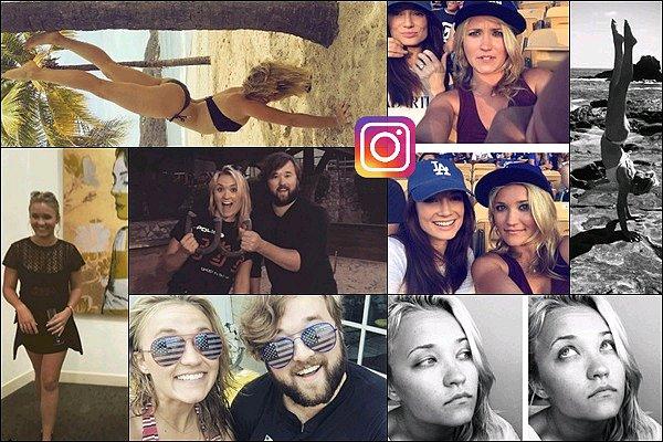 Et� 2016 - Emily a post� de nouvelles photos sur les r�seaux sociaux..!