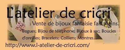 Infos (pub pour un site de bijoux magnifique ^^)