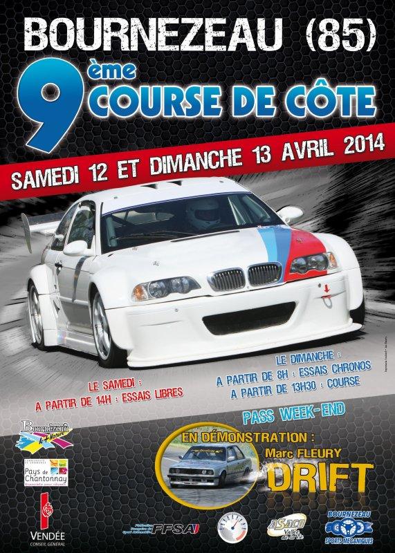 F�licitation � Bernard MORILLEAU pour sa victoire de groupe et de classe avec sa BMW 318 Comptact en F2000