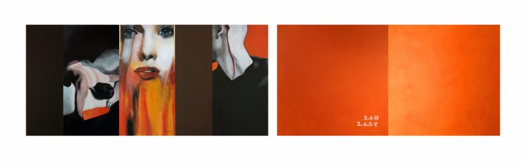 Expo monochrome ORANGE avec le GRAAL
