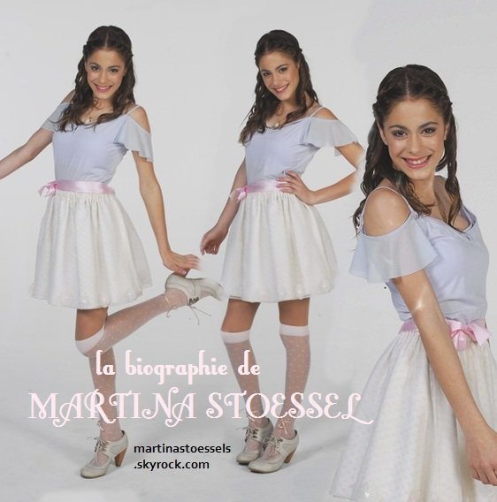 la biographie de MARTINA STOESSEL