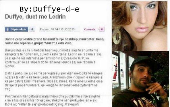 Dafina Zeqiri & Ledri Vula - Se shpejti do publikohet klipi `Pom Pelqen`