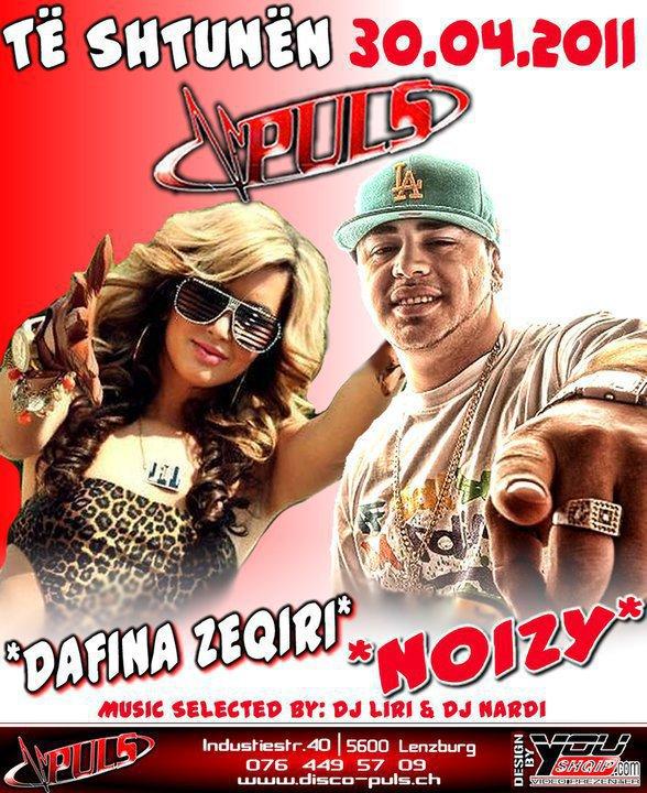 Dafina Zeqiri & Noizy - Koncert ne DiscoPuls - 30.04.2011