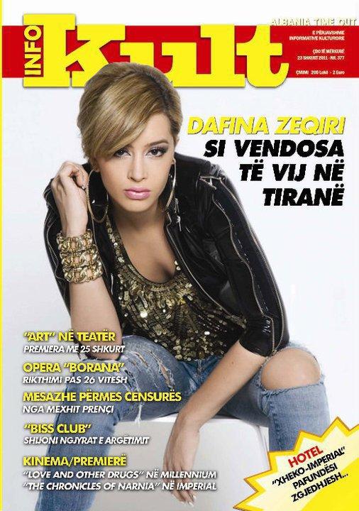 Dafina Zeqiri : Si vendosa te vij ne Tirane .