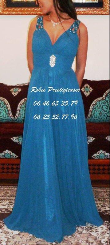 ROBE DE SOIREE A VENDRE 60� taille 36/38