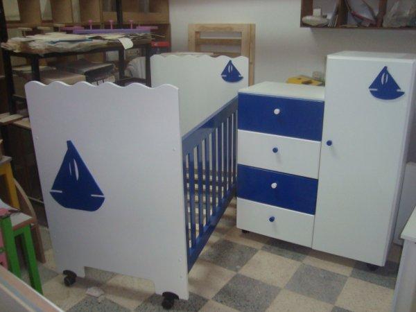 chambre bebe marin