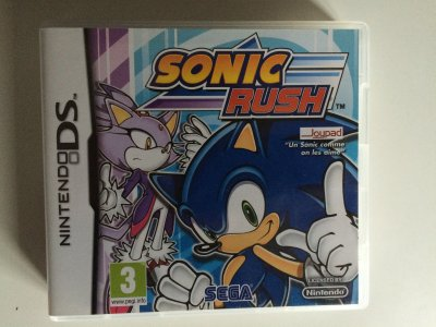 Mon top 3 des jeux Sonic que je pr�f�re sur Nintendo DS!