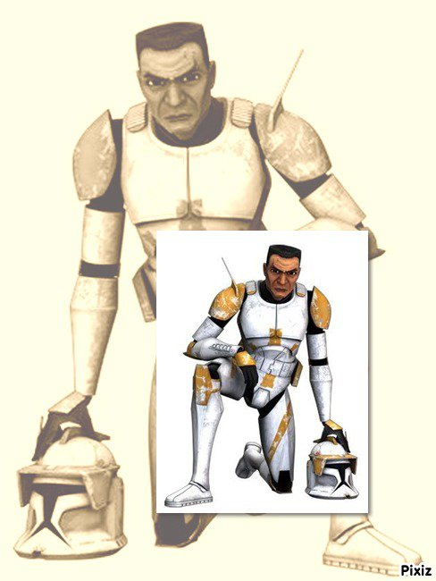 CC-2224 The commander Cody in Star wars : The clone wars / Commandant Cody dans Star wars : The clone wars (swtcw)