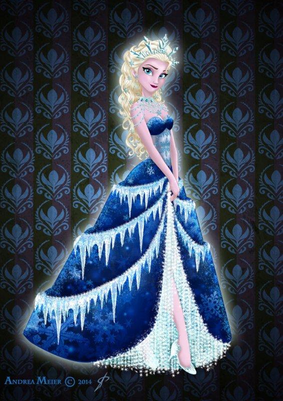 Seconds personnages elsa la reine des neiges et anna - Personnage reine des neige ...