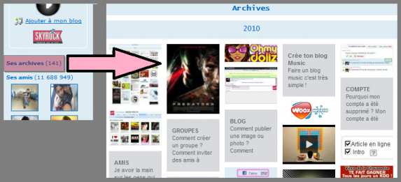 BLOG : Toutes tes photos, vidéos et gadgets sur une seule page
