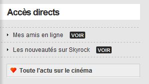 FAQ : nouvelle version Skyrock
