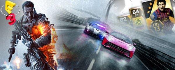 Suis l'actualit� du Salon E3 gr�ce � la page source Jeux-Vid�os