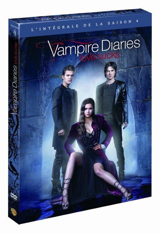- Gagne ton dvd de Vampires Diaries Saison 4