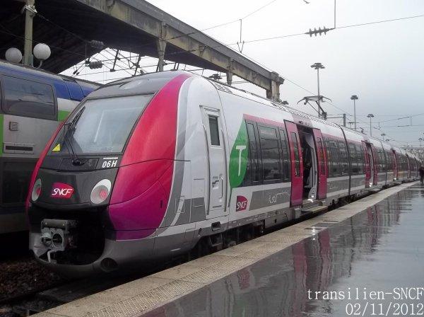 ligne transilien h trainz 50 000 en gare de paris gare du nord voie 20 blog non officiel du. Black Bedroom Furniture Sets. Home Design Ideas