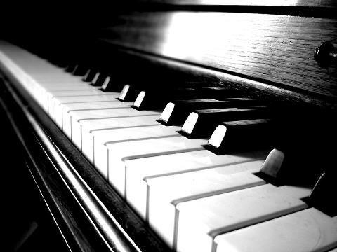 La vie est comme un piano il y a le noir et le blanc for Le noir et le blanc