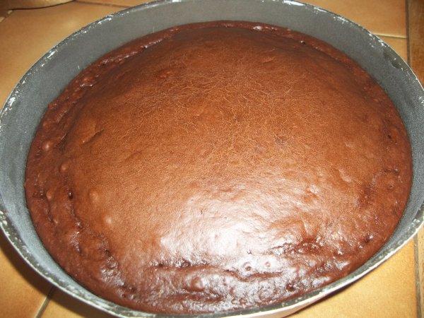 Fondant au chocolat sans oeufs et son gla age au chocolat Fondant au chocolat sans oeufs