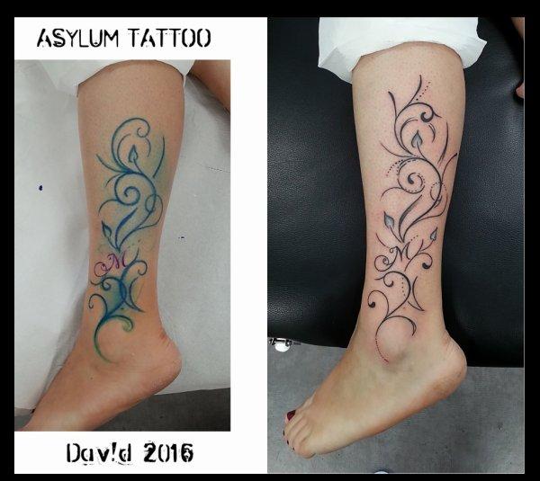 Tattoo Arabesque