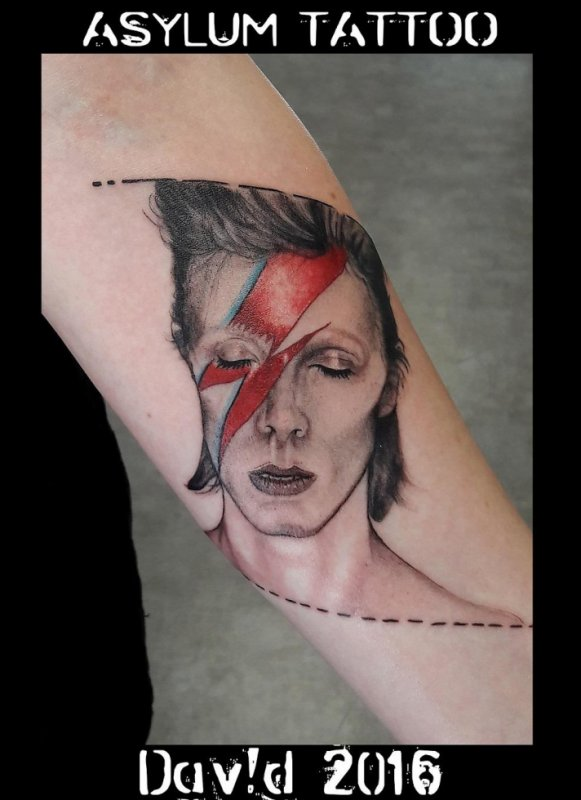 Tattoo David Bowie