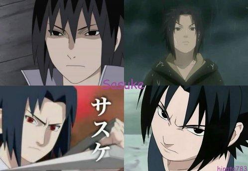 Pr�sentation personnage : Sasuke