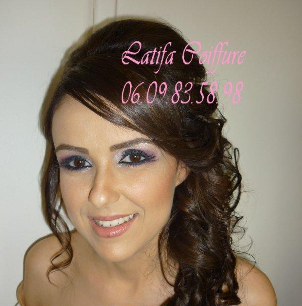Maquillage libanais - Coiffure - orientale passion