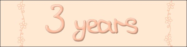 3 ans sans toi ...