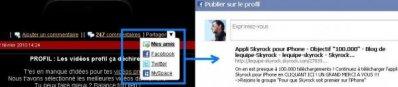 BLOG: Verteile deine Artikel auf Facebook, MySpace, Twitter oder Skyrock!
