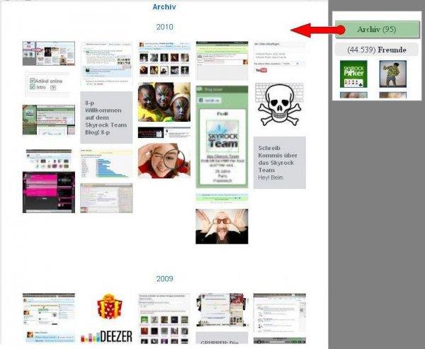 BLOG:  Alle deine Fotos, Videos und Widgets auf einer Seite!