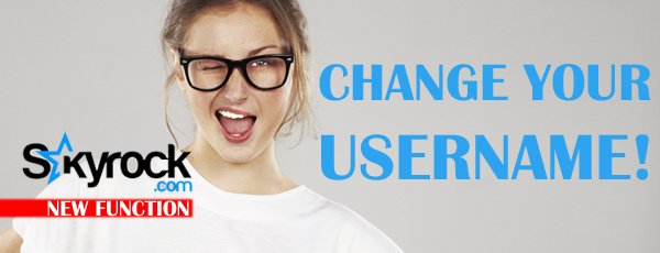 CHANGING USERNAME: You asked for it, we made it possible!