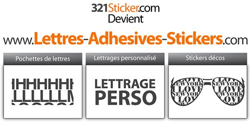 321Sticker.com devient lettres-adhesives-stickers.com