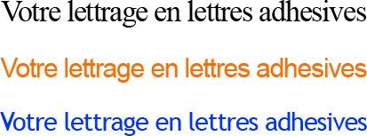 Lettre adhesive avec Lettreadhesive.com