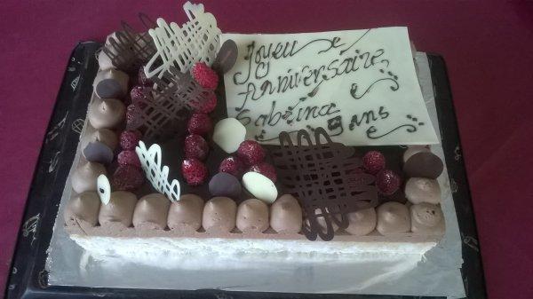 CHARLOTTE CHOCOLAT FRAMBOISE