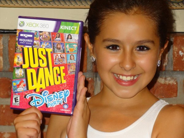 Check out the new just Dance disney party video game.
