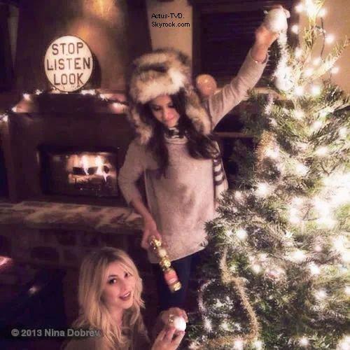 Christmas Dance Wars : Nina Dobrev a plus d'une corde � son arc !