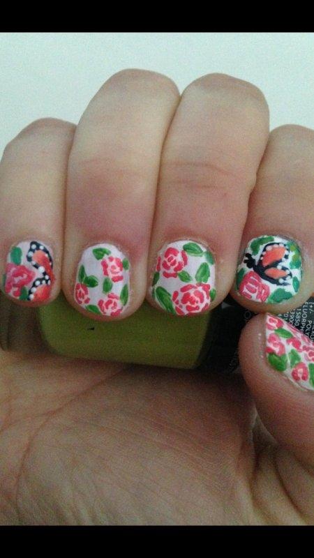 Nail art printemps univers d 39 une ado - Nail art printemps ...