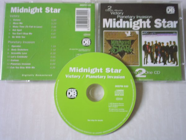 Midnight Star 1982/1984 Victory / Planetary Invasion [Deap Beat]