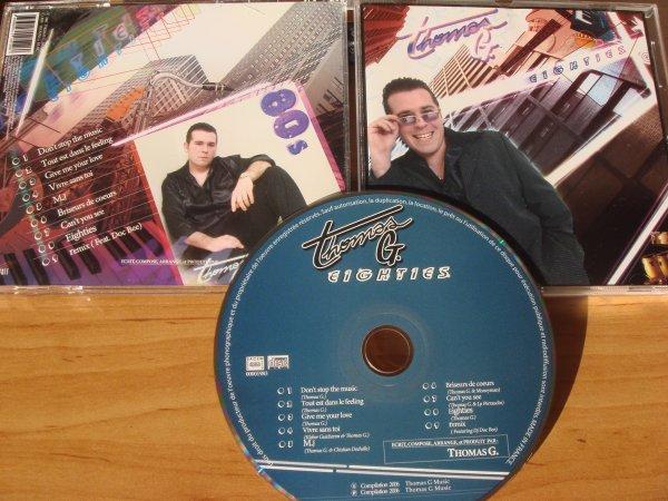 Thomas G 2006 Eighties cd