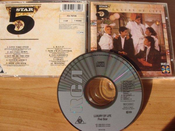 5 star cd luxury of live