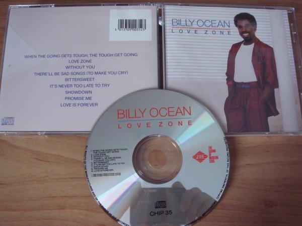 Billy Ocean 1986 Love Zone