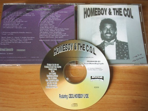 Homeboy & The Col 1982 I'll Make It On My Own