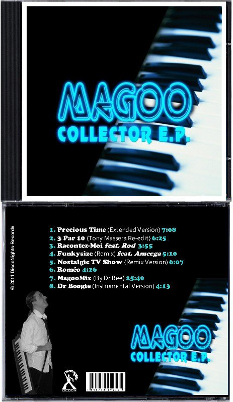 MAGOO - THE COLLECTOR EP (CD)