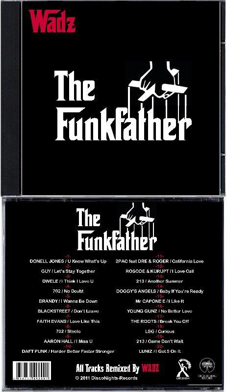 WADZ - The FunkFather (CD)